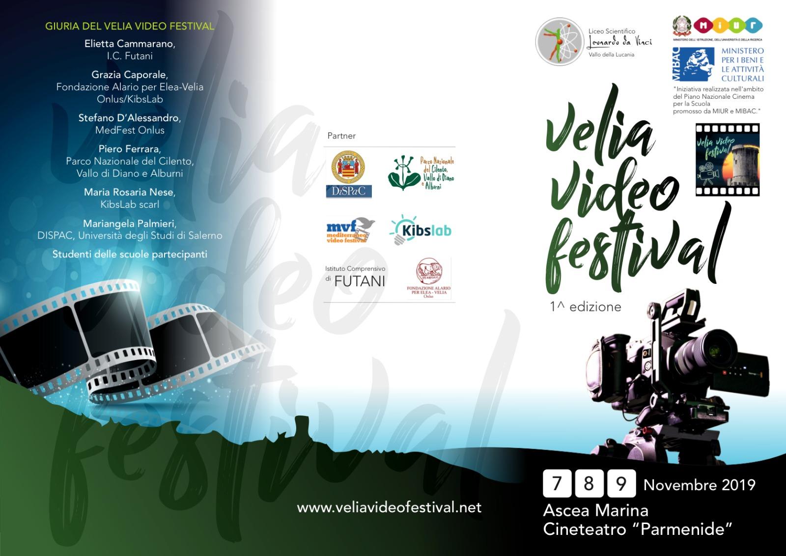 Programma Velia Video Festival