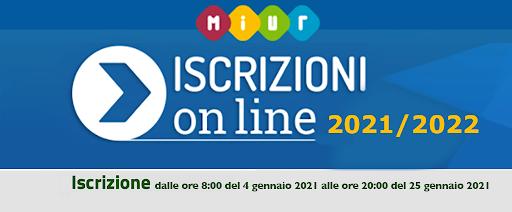 Iscrizioni online 2021/22